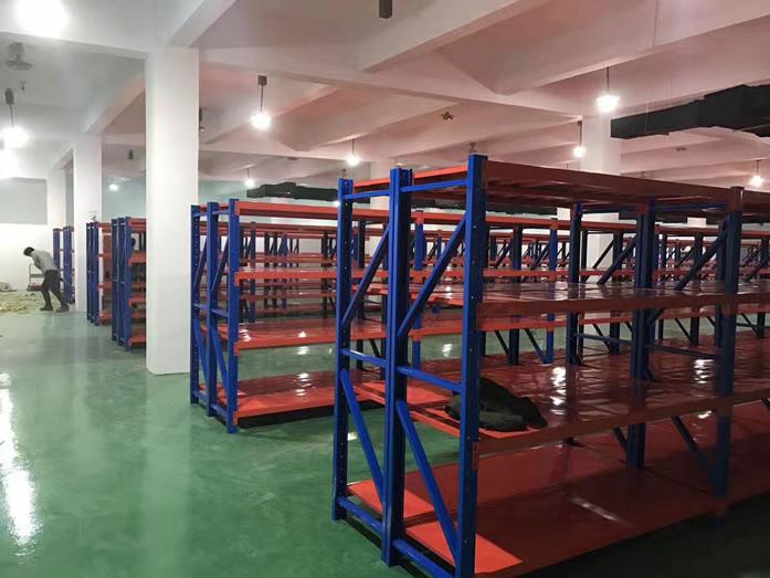 上海重型貨架安裝案例